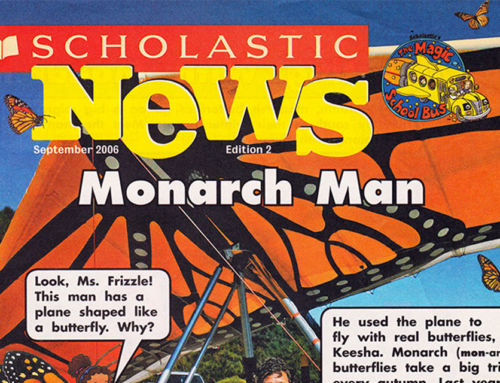 Following the Monarchs in an Ultralight Airplane